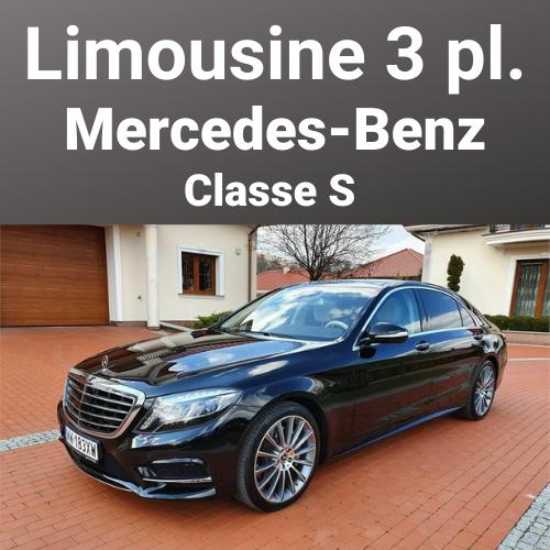Limousine Mercedes-Benz Classe S 3 Places
