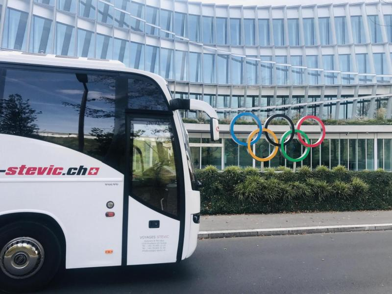 Bus Olympic Committee Lausanne