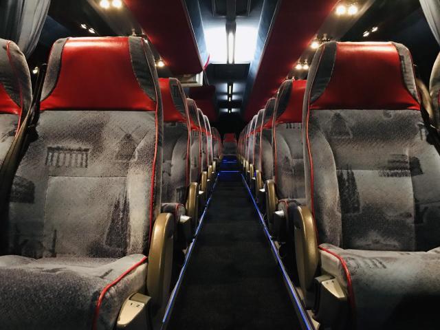 Bus Volvo 9700 intérieur