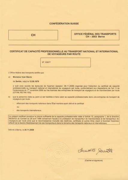 Licence 3